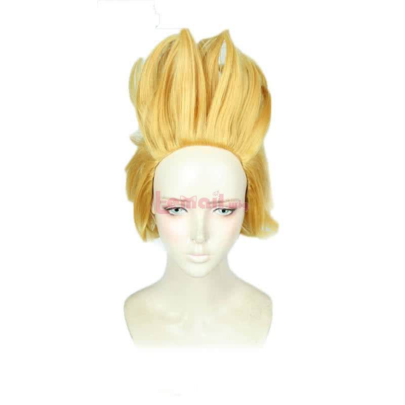 My Hero Academia Hizashi Yamada Short Blonde Cosplay Wigs
