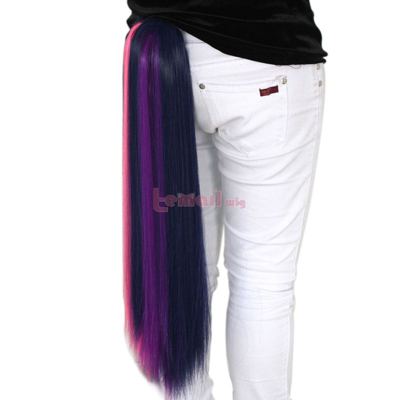 My Little Pony Twilight Sparkle Mixed Purple/Pink Claw On Wig
