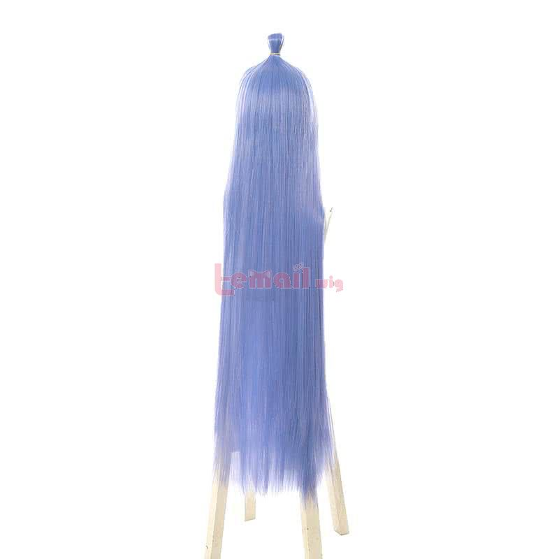 NE ZHA East Sea Dragon Ao Bing Long Straight Light Blue Cosplay Wigs