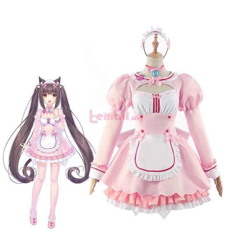 NEKOPARA 4 Chocola Lolita Dress Cosplay Costume