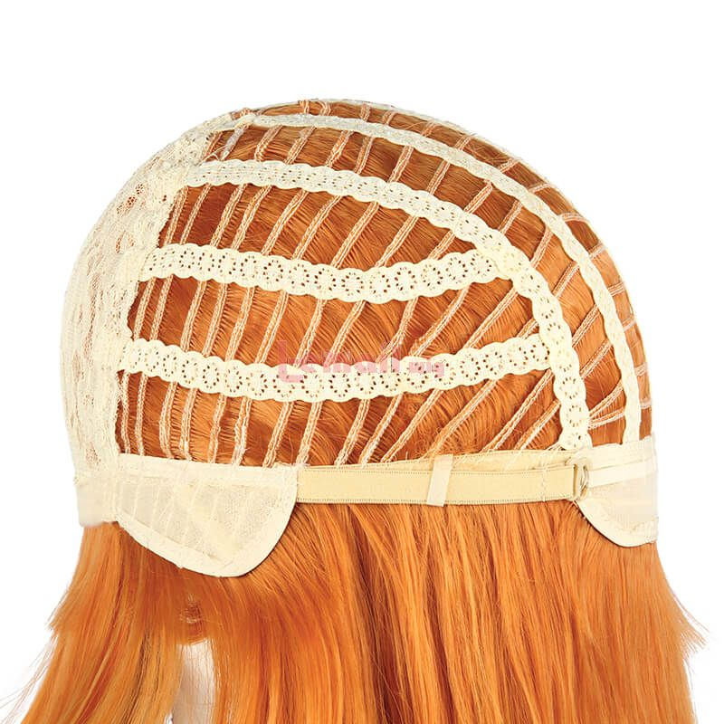 Neon Genesis Evangelion Asuka Langley Soryu Long Orange Cosplay Wigs