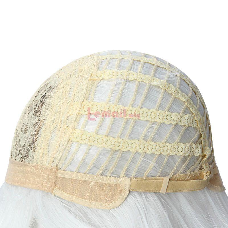 Nier Automata RepliCant Kaine Silver Gray Braid Cosplay Wigs
