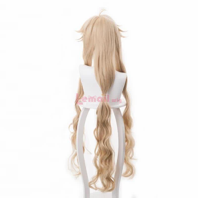 Onmyoji Cosplay Wig Heat Resistant Cosplay 100cm Wig Long Curly Blonde Synthetic Hair