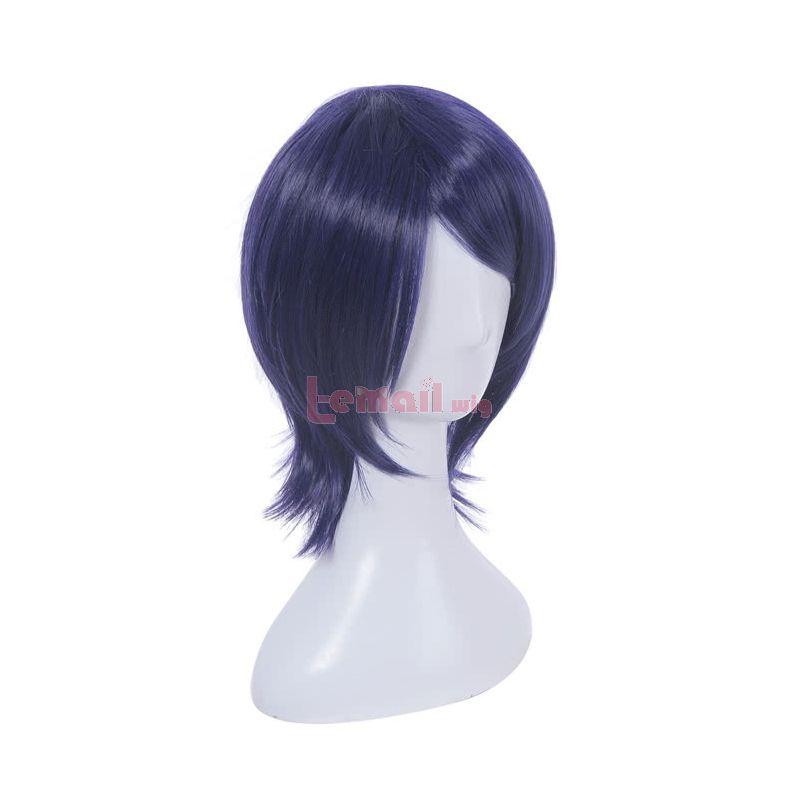 Persona 5 Yusuke Kitagawa Short Mixed Color Straight Cosplay Wigs