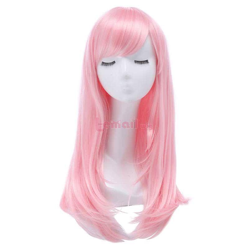 cosplay wig pink
