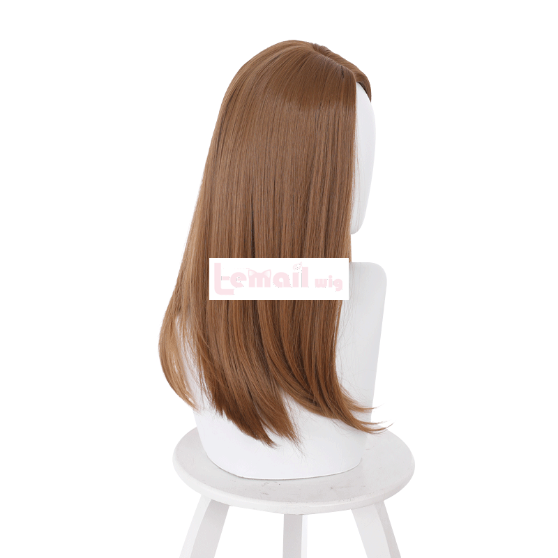 Resident Evil Village Daniela Long Straight Brown Cosplay Wigs