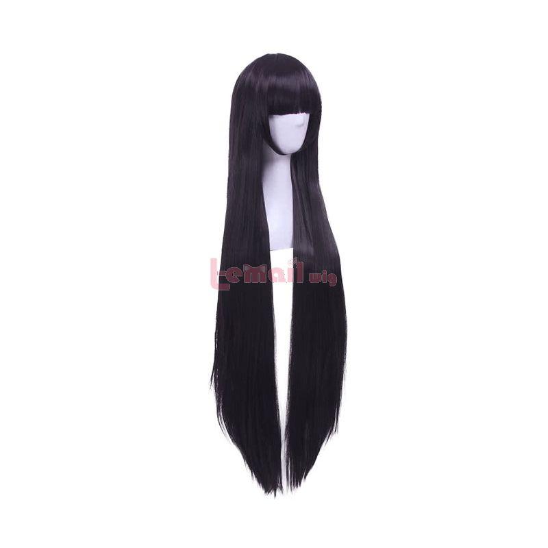Inu x Boku SS Shirakiin Ririchiyo Anime Synthetic Hair Long Straight Cosplay Wigs