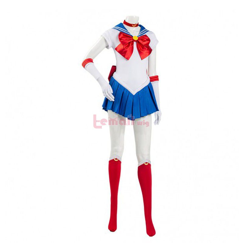 Sailor Moon Usagi Tsukino Uniform Dress Cosplay Costume