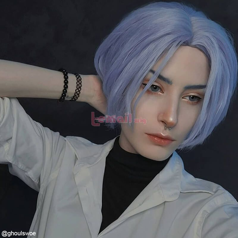 SK8 the Infinity Langa Blue Short Men Cosplay Wigs