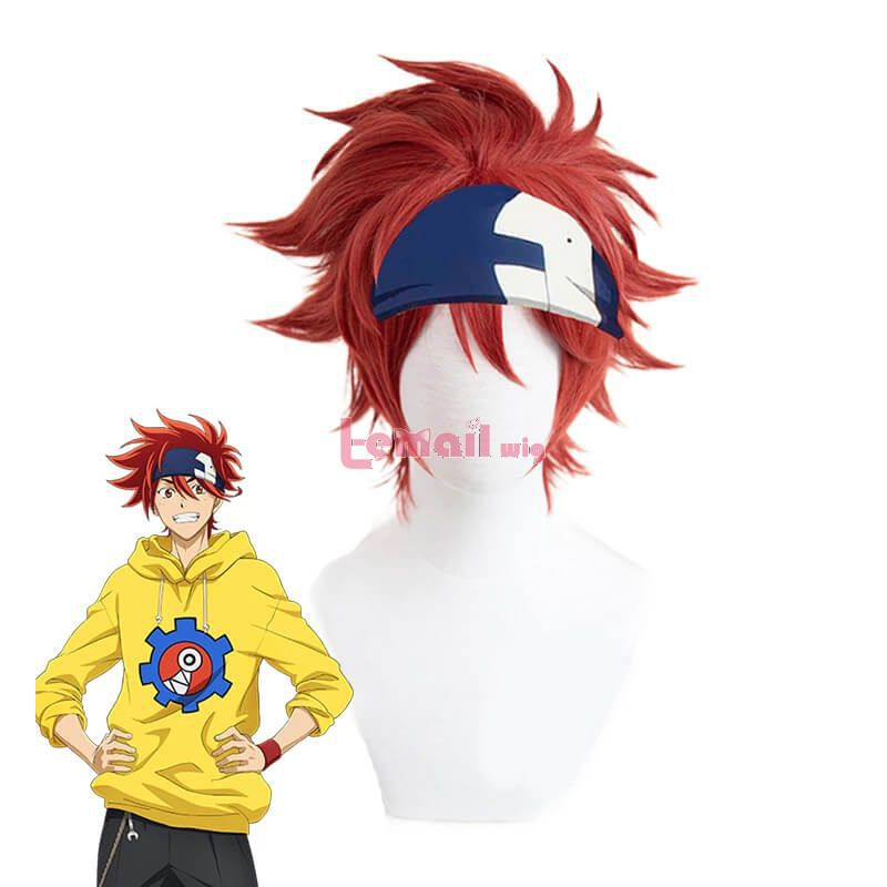 SK8 the Infinity Reki Kyan Men Cosplay Wigs