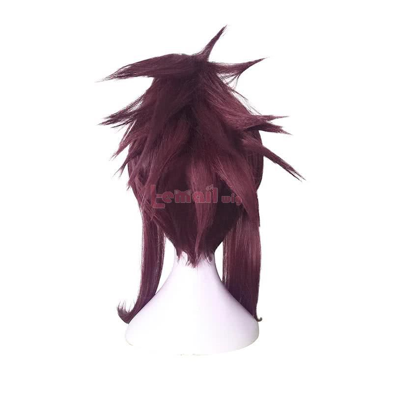 LOL KDA Skin Akali Long Purple Ponytail Cosplay Wigs