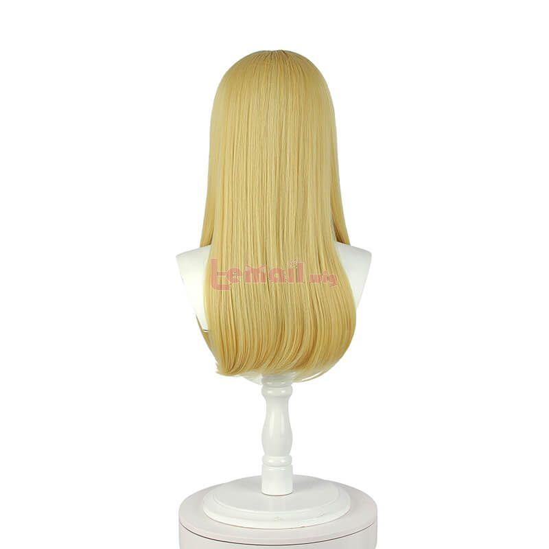 Sunohara-sou no Kanrinin-san Ayaka Sunohara Long Blonde Cosplay Wigs
