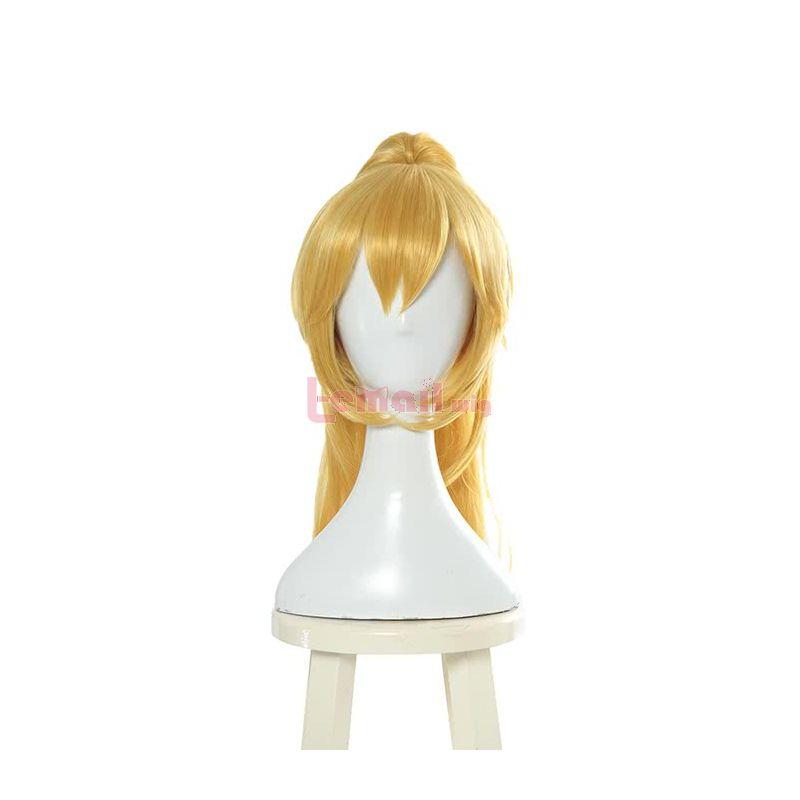 Game Super Mario Bowser Koopa Blonde Cosplay Wigs