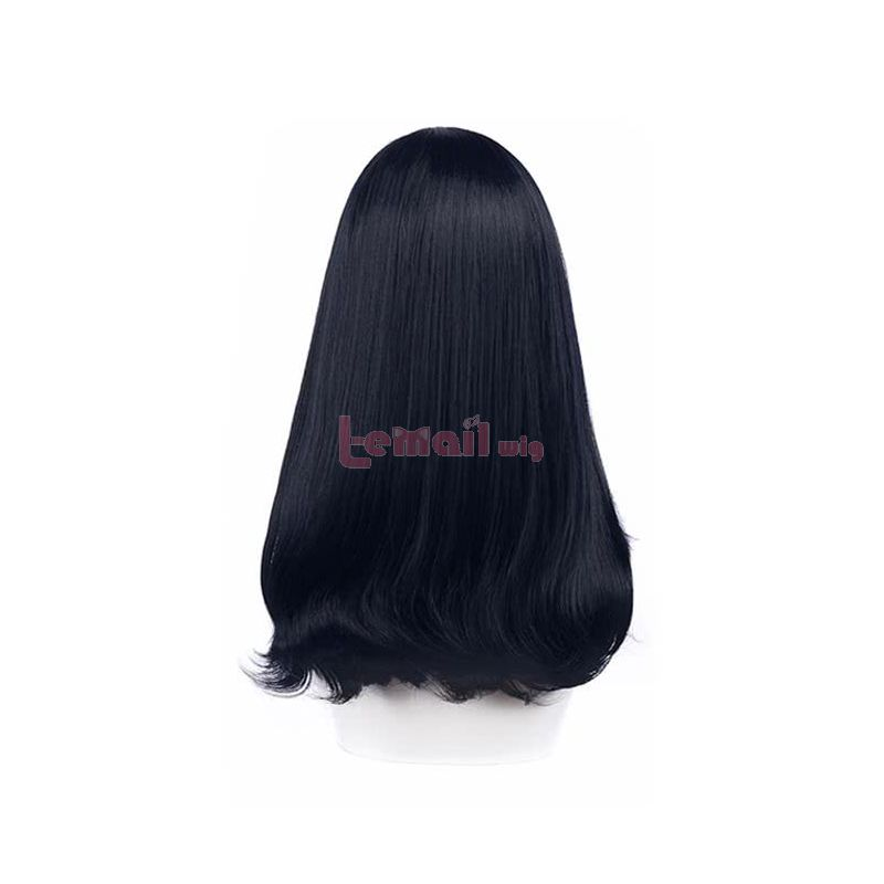 Anime SSSS.GRIDMAN Takarada Rikka Dark Blue Black Cosplay Wigs