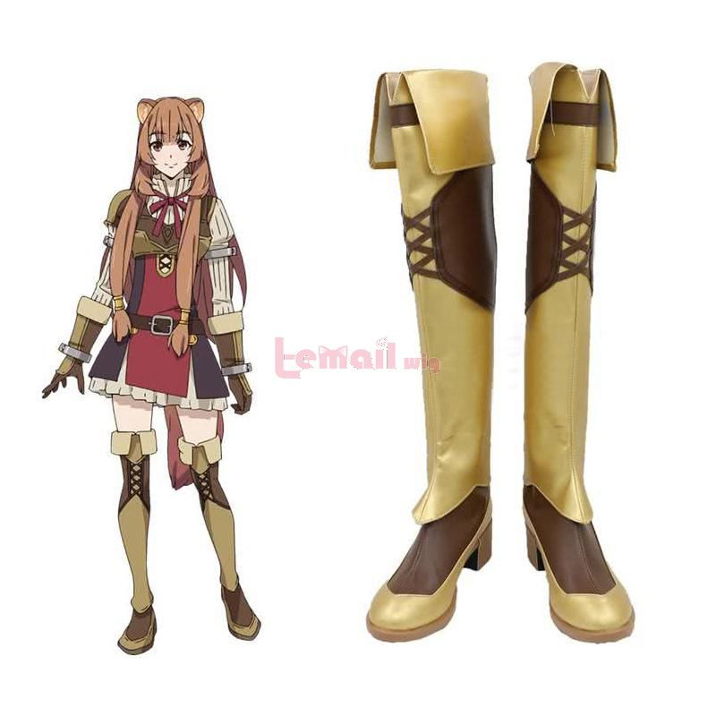 The Rising of the Shield Hero Raphtalia Long Cosplay Shoes