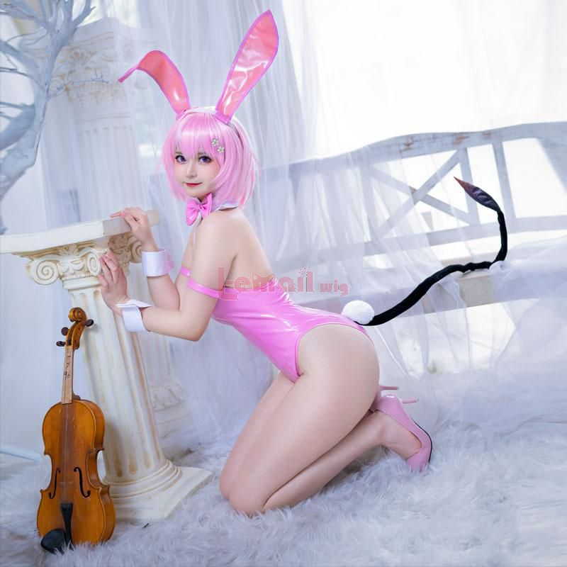 To Love Ru Momo Belia Deviluke Bunny Girl Jumpsuit Cosplay