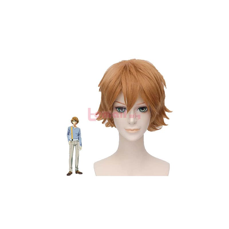 Tokyo Ghoul Nishiki Nishio Short Straight Blonde Anime Cospaly Wigs