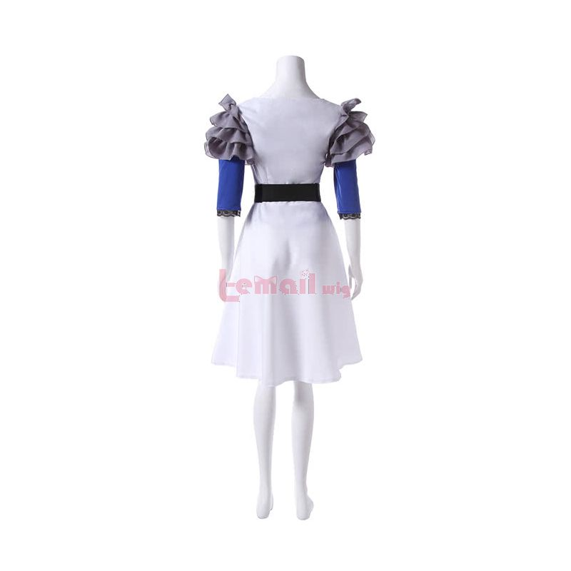 Tokyo Ghoul Rize Kamishiro White Dress Cosplay Costume