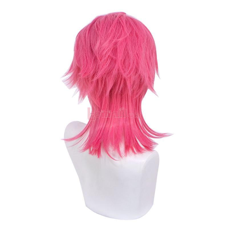 JoJo's Bizarre Adventure Trish Una Pink Cosplay Wigs