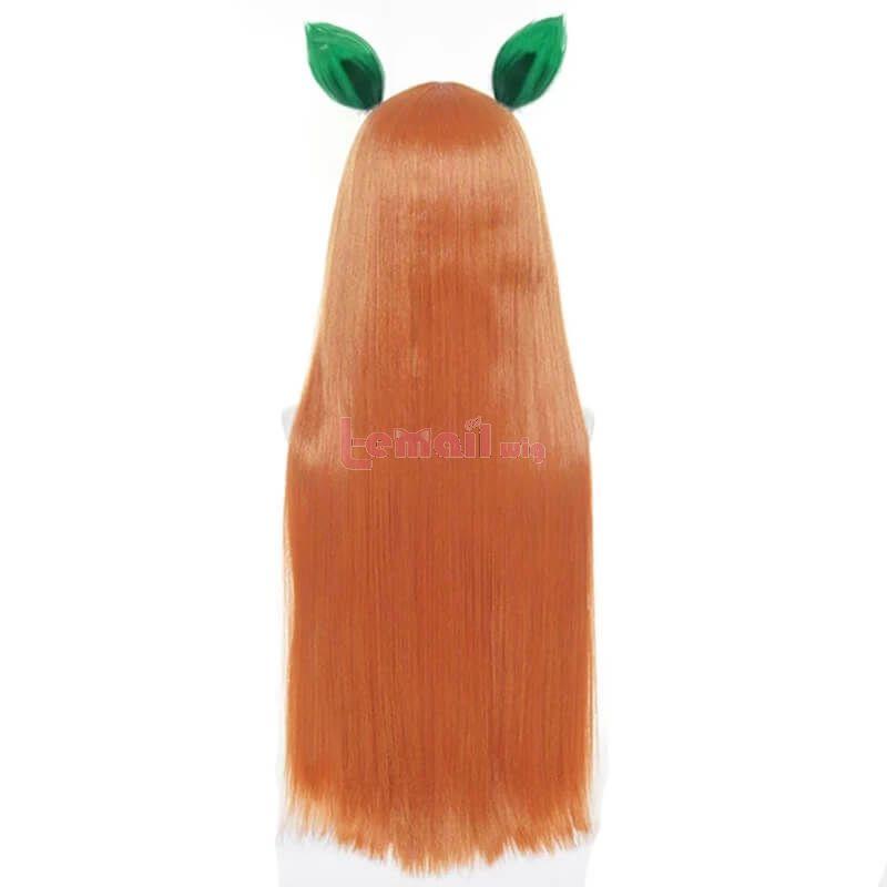 Uma Musume Pretty Derby Silence Suzuka Cosplay Wigs with Ears Bangs