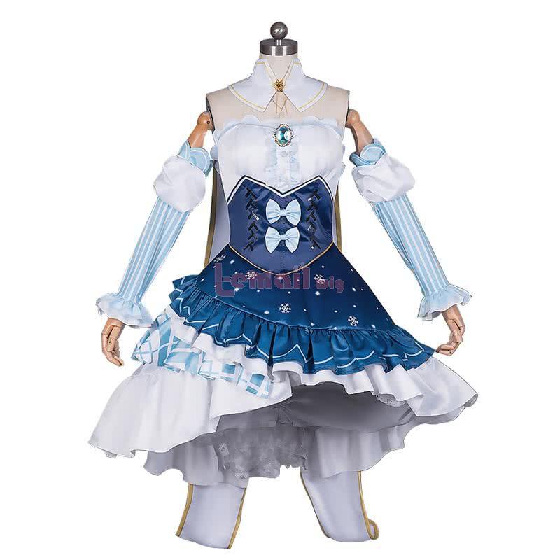 Fullset Star and Snow Princess Cosplay Costumes