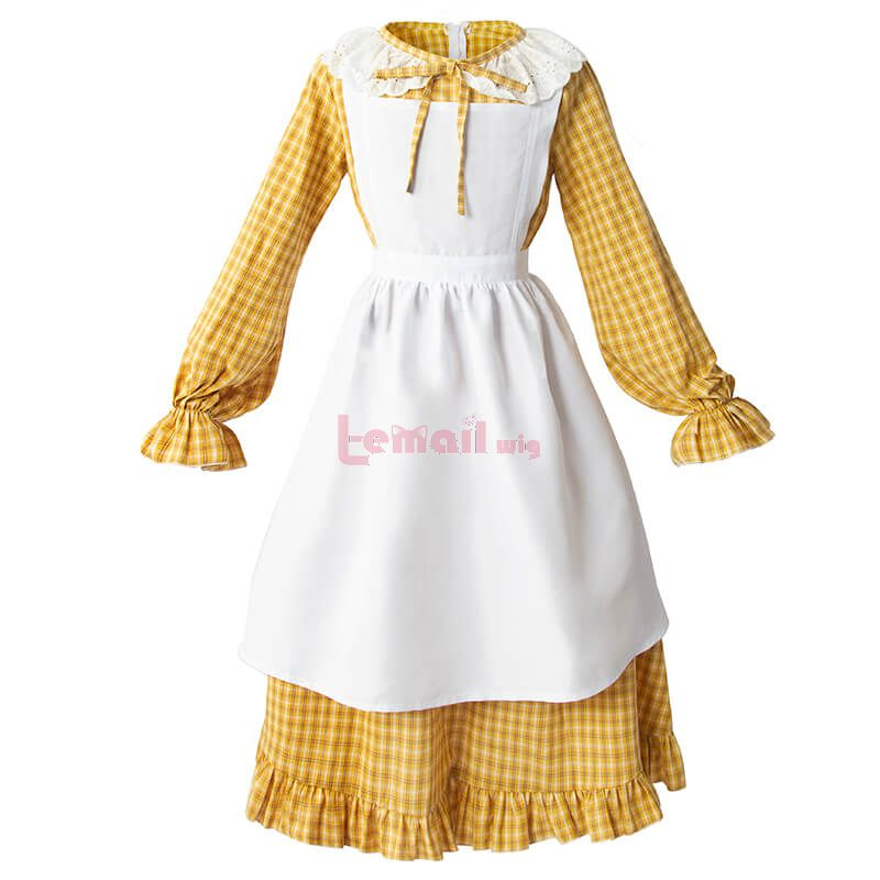 Pioneer Girl Dress Yellow