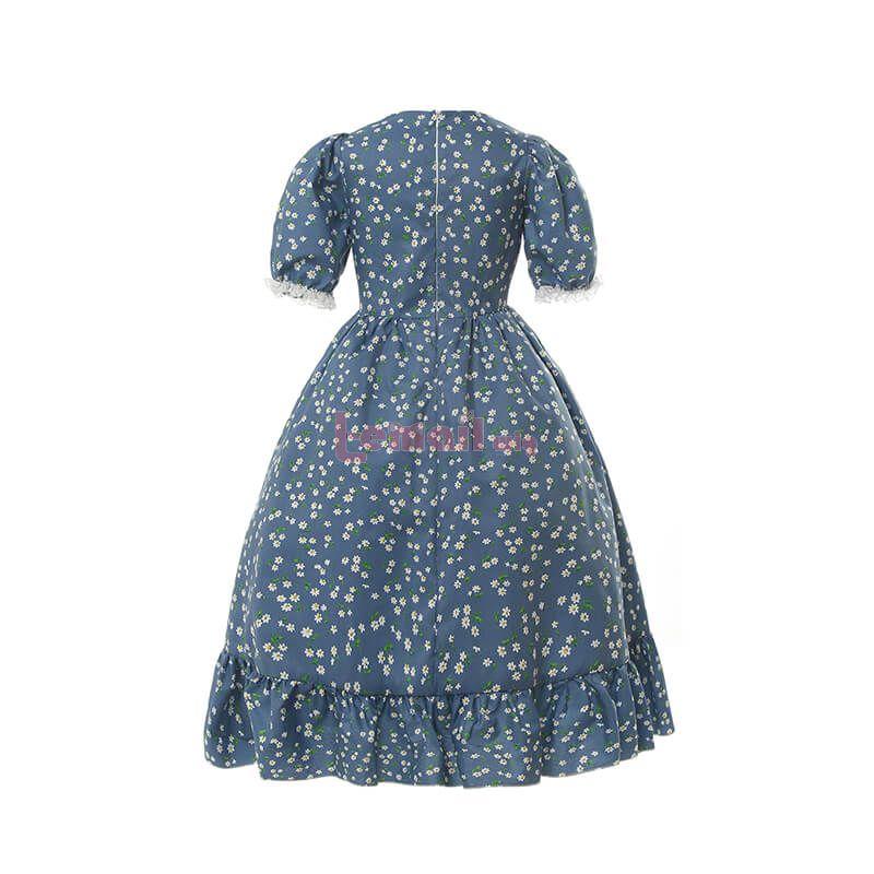 Calico Vintage Prairie Dress for Kids