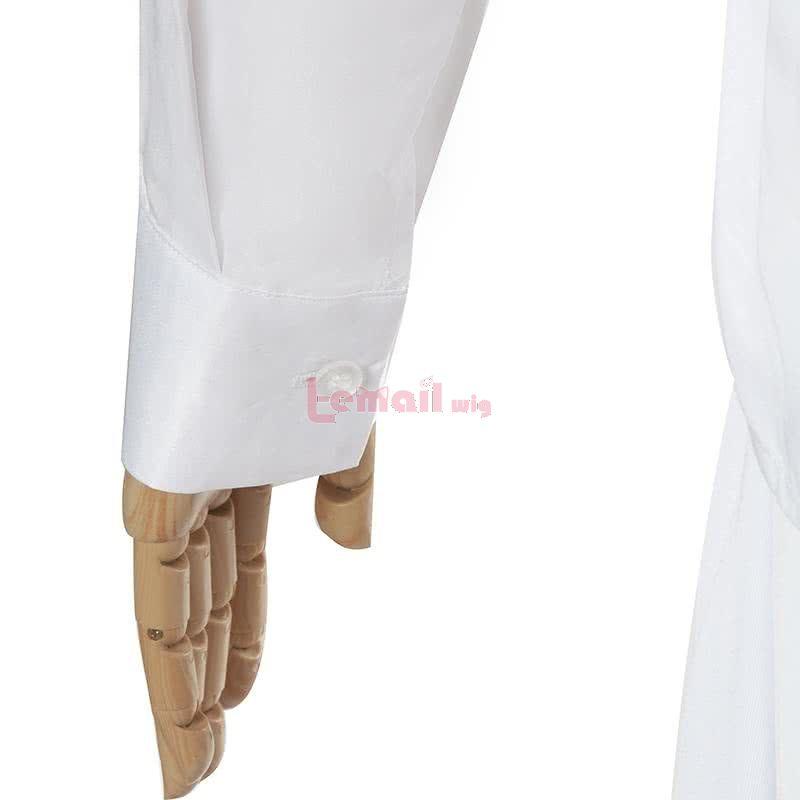 Anime Yakusoku no Neverland Emma White Shirt Skirt Cosplay Costume