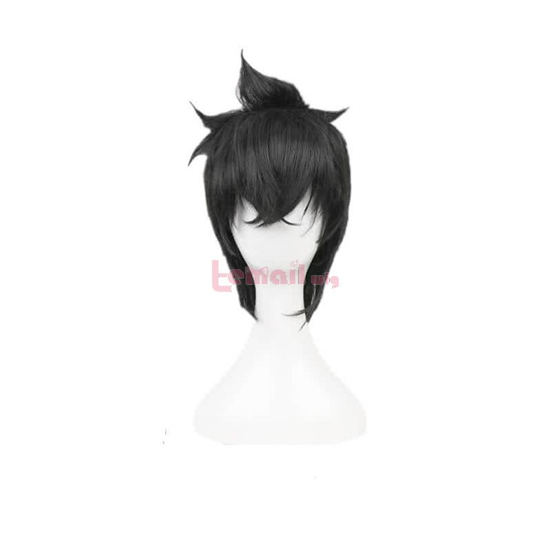 Anime Black Clover Yuno Black Cosplay wig