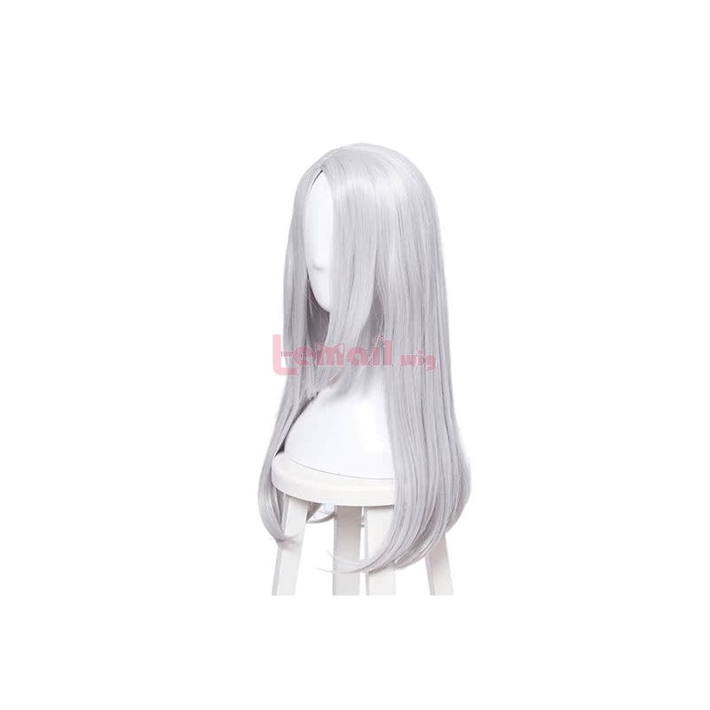 Yuri On Ice Young Victor Nikiforov Silver Long Straight Synthetic Cosplay Wig Hair