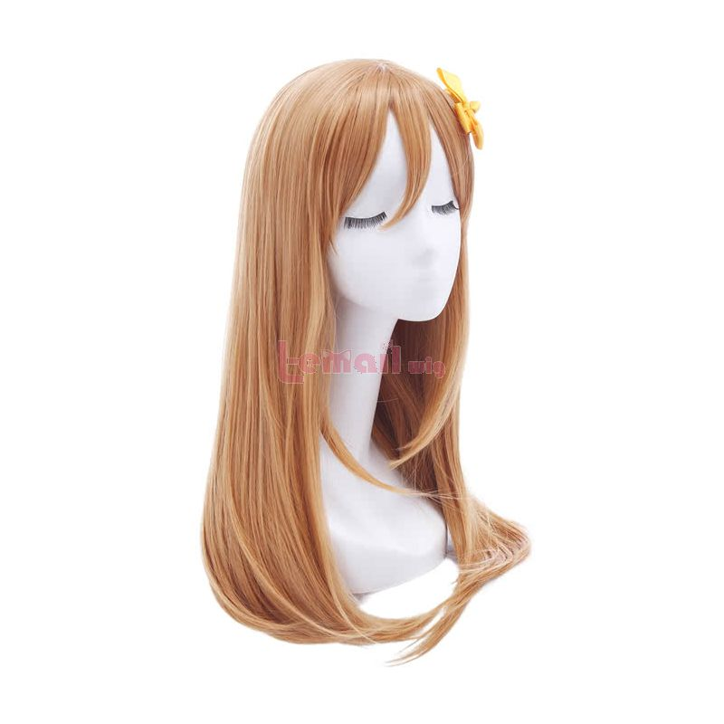 LoveLive!Sunshine!! Kunikida Hanamaru Long Blonde Cosplay Wigs