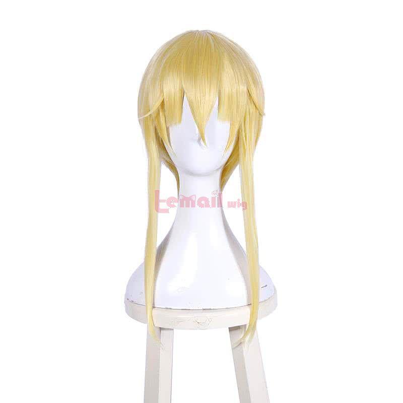 Ailin Online Anime Kakegurui Mary Saotome Meari Blonde Lange Per/ücken Cosplay Kost/üm f/ür Frauen und Fans