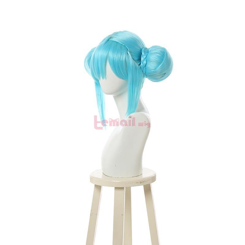 blue miku wigs