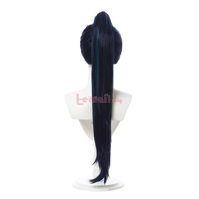 KDA BADDEST Kaisa wig with ponytail