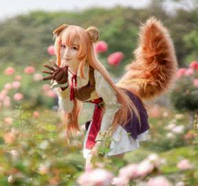 The_Rising_of_the_Shield_Hero_Raphtalia_Cosplay_Costume_WIG