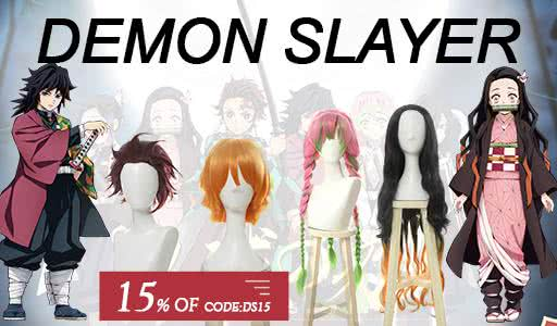 Demon Slayer Shinobu Cosplay Wigs
