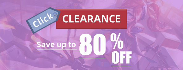 clearance goods sale