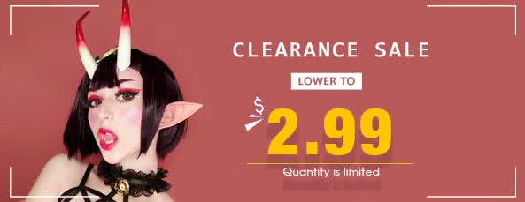cosplay wigs clearance sale